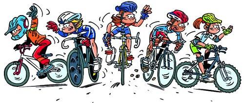 Modalit s d inscription au club creusot cyclisme - Dessin cycliste ...