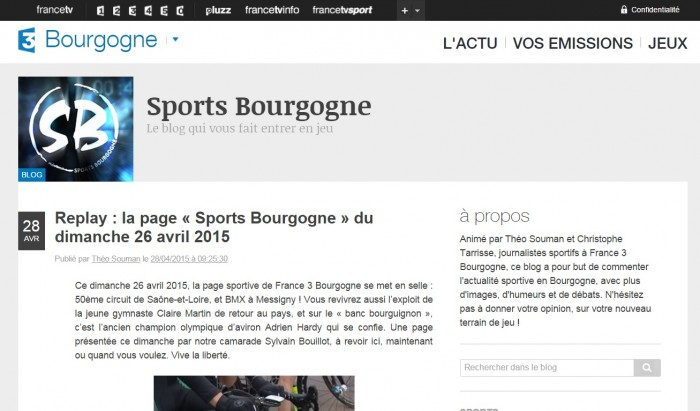 Sport 3 replay