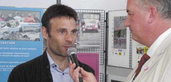 Creusot Cyclisme et Jicé Peraud au Comptoir des Fers