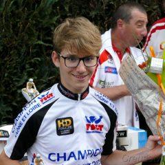 Antonin Landré champion de Saône et Loire FSGT 2ème catégorie / Résultats Mardi 8 Mai