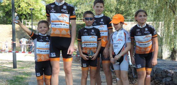 Victoires d'Hugo Antunes et Lucas Gueugneaud à Charolles / Résultats Semaine 41