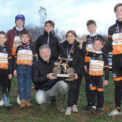 Creusot Cyclisme remporte le trophée départementale de cyclo cross 2017/2018