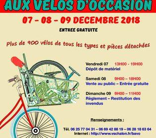 Bourse aux vélos d'occasion – Chalon sur Saône