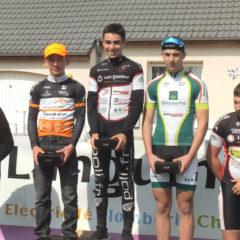 Un podium / Résultats courses semaine 12
