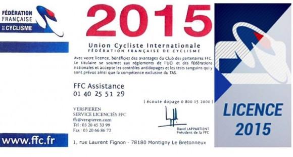 licence 2015