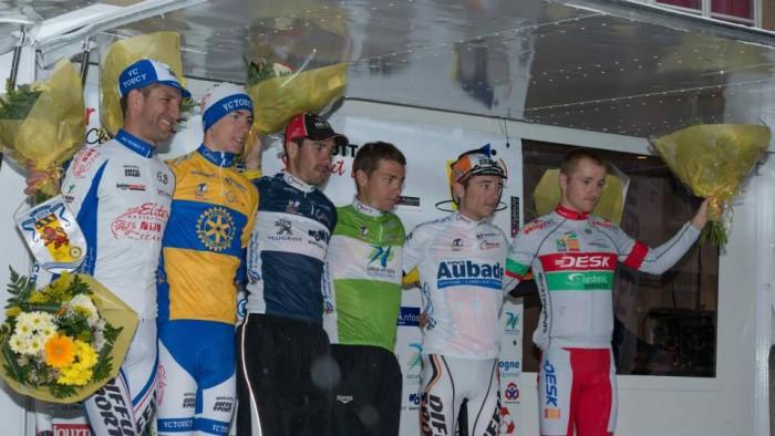 Podium final du Circuit 2014