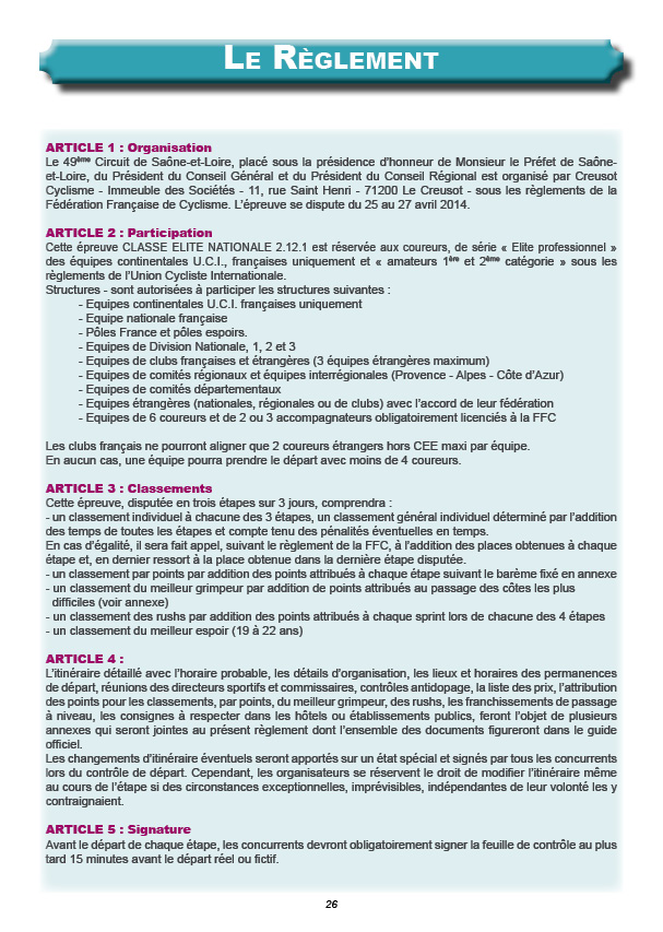 règlement-CSL-2014 (1)