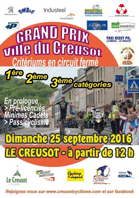 Grand prix creusot 2016