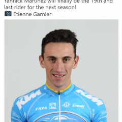 Yannick Martinez renouvelé chez Delko-Marseille Provence-KTM