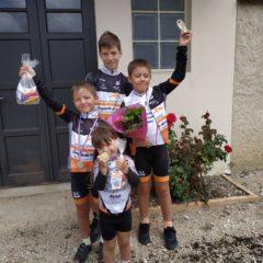 1 victoire & 3 podiums / Résultats semaine 33