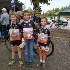 Cyclo-cross : 1 victoire et 3 podiums / Résultats semaine 41