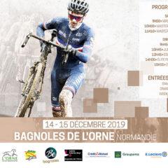 Océane Gauthey était à la 3ème Manche de la Coupe de France de Cyclo-Cross à Bagnoles-De-Lorne