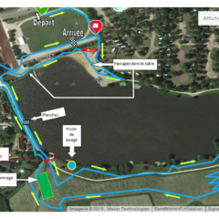 Le circuit du Cyclo-cross d'Arnay-Le-Duc en vidéo