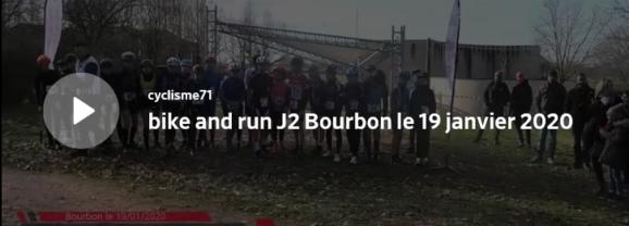 Mathieu Perroux était au «Bike and run» de Bourbon