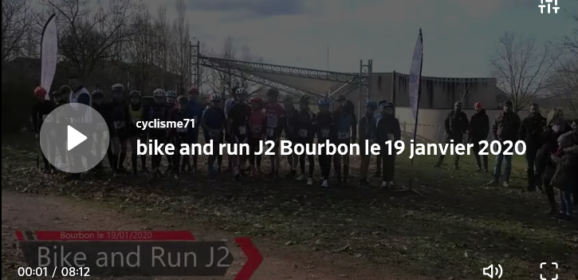 Mathieu Perroux était au « Bike and run » de Bourbon