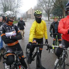 «Sortie pluvieuse du Club», Article Creusot Vélo Sport