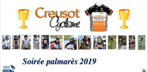 Creusot Cyclisme a fêté son Palmarès 2019
