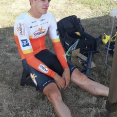 Vidéo – Louis Louvet au vélodrome de Montceau les Mines