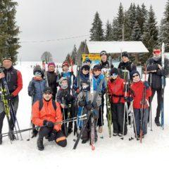 Quelques images de la sortie de ski de fond du 9 février 2021