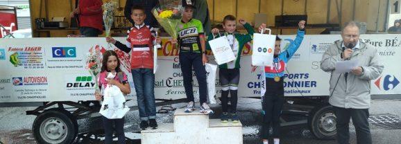 CHAUFFAILLES: Championnat de S&L des école de vélo. (la suite)