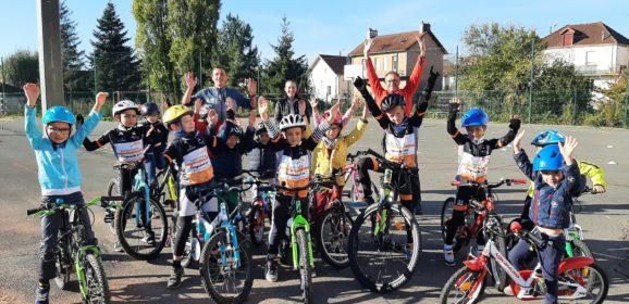 Entrainement: Baby vélo + Ecole de vélo +Minimes- Cadets-Juniors-Seniors Semaine 42
