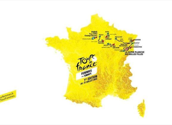 LE TOUR DE FRANCE  POUR LES FILLES AUSSI